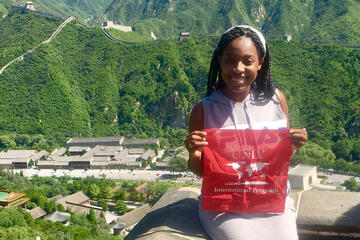 Kendra Patterson is studying abroad in China this semester with support from a scholarship.