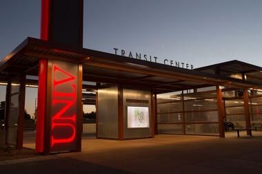 UNLV Transit Center Photo